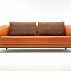 Bela Sofa Orange Braun Möbel