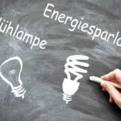 Beleuchtung Energiesparlampe Glühlampe