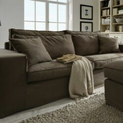 Newport Sofa In Braun