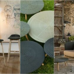 Ideen Moderne Moebel Rattan Round Point