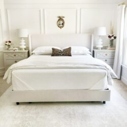 White Bed With White Bed Linen